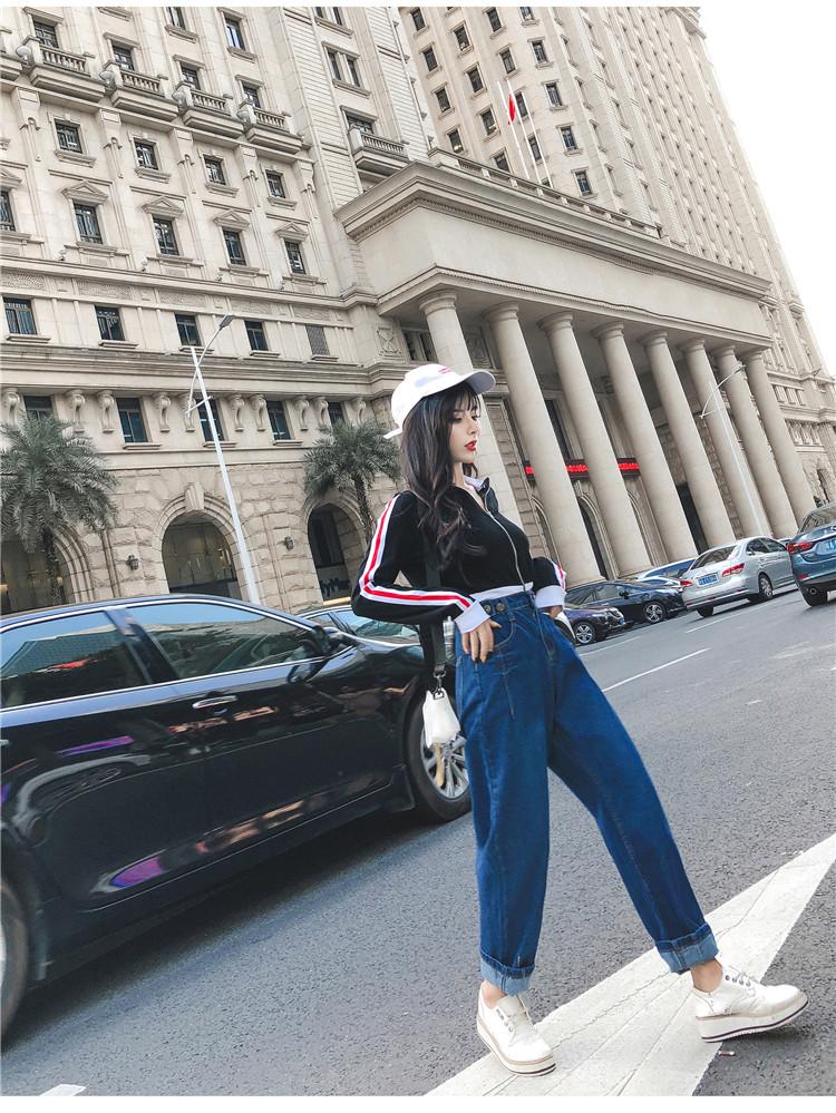 高腰显瘦牛仔裤女6