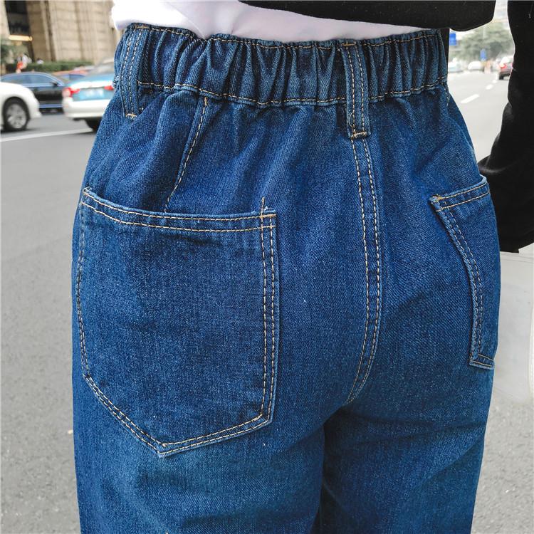 高腰显瘦牛仔裤女7