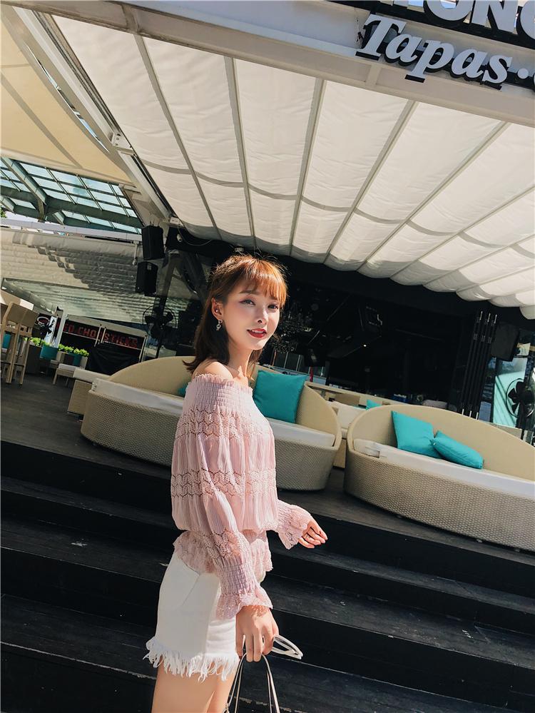 新款长袖蕾丝衫性4