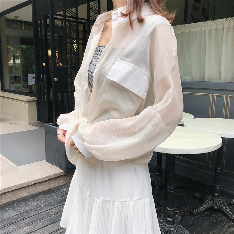 雪纺防晒衫开衫新款4