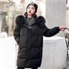 新款羽绒服女韩版宽松大码中长款时尚羽绒服女棉衣外套