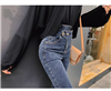 牛仔裤女高腰2019春新款修身显瘦小脚铅笔裤韩版chic长裤潮
